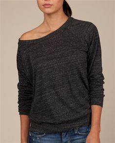Eco-Slouchy Pullover