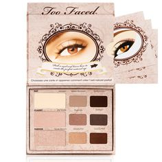 "Too Faced ""The Natural Eye, Neutral Eye Shadow Collection"", it's the perfect LE NUDE =) eyeshadow pallet. Colors are natural, soft and subtly sexy."