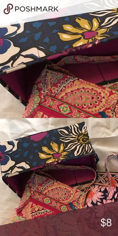 Vera Bradley Storage cubby Storage bin / gently used / no tears, pulls, etc Vera Bradley Other