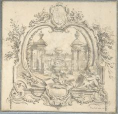 French_Architectural_and_Ornament_Drawings_of_the_Eighteenth_Century - Google Search