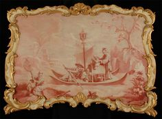 """Jean-Baptiste Pillement (1728 - 1808) """"Chinoiserie"""", circa 1775. Most influential artist of the French Rococo."""