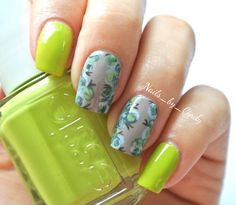 Floral with lime
