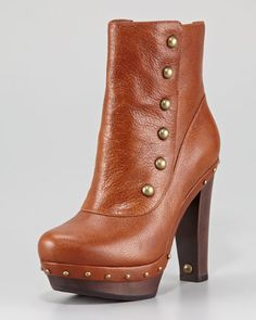 Cosima Clog Ankle Boot by UGG Australia at Neiman Marcus.