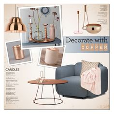"""Decorate with candles II"" by anna-anica ❤ liked on Polyvore featuring interior, interiors, interior design, home, home decor, interior decorating, Merchant Archive, Normann Copenhagen, Swedese and CB2"