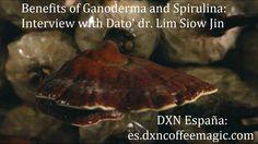 Ganoderma y Spirulina: Entrevista realizada al Dr. Lim con subtitulos en...
