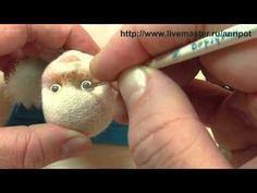 Видеоурок: рисуем живые глазки - Ярмарка Мастеров - ручная работа, handmade