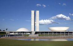 Congresso Nacional (Palácio Nereu Ramos - 1960), Brasília, DF | Oscar Niemeyer