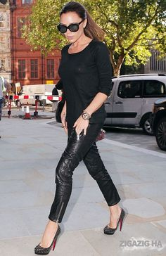 Victoria Beckham out and about in London, October 2010