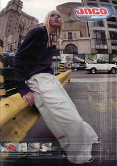 JNCO... I used to think she was hot!!!!!