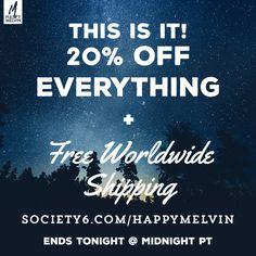 Insane #deal at Society6 today! -> https://society6.com/happymelvin/?curator=happymelvin  #wanderlust #homedecor #walldecor #photography #artwork