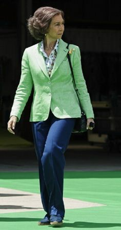 Queen Sofia of Spain attends the Presentation of the Spanish Paralympic Sailing Team 2014 at headquarters of Iberdrola, 08.05.2014 in Valencia, Spain.