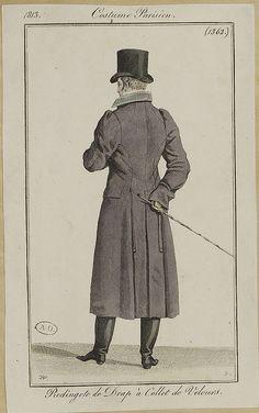 1813. Redingote