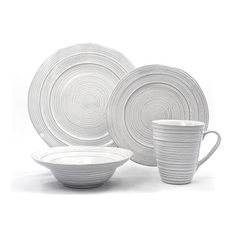 Tablescapes by Gaia Group LLC Barolo 16 Piece Dinnerware Set