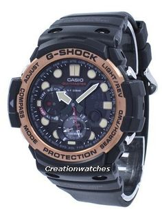 eac58a796a6 Casio G-Shock Gulfmaster Twin Sensor World Time GN-1000RG-1A GN1000RG-1A  Men s Watch