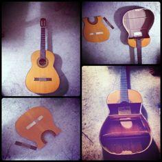 ReFab Diaries: Repurpose: Old Guitars can still Rock!