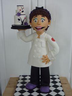 porcelana fria, polymer clay, masa flexible, pasta francesa, fimo, figurine, modelado, modelling cake topper