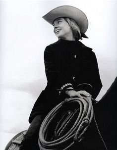 Audrey riding horse 1957 | Flickr - Photo Sharing!
