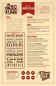 28 Amazing Examples Of Cool And Creative Resumes CV