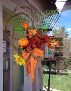 Rake Wreath   KENNETH WINGARD