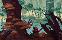 In the Swamp by Lexie-Holliday