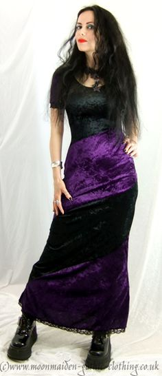 Moonmaiden Gothic Clothing - Ostarian Dress