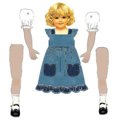 FREE P ARTICULATED PAPER DOLL