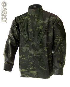 The 'Tactical Response Uniform' in Black Multicam.