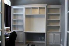 Resultado de imagen para bookcase with desk