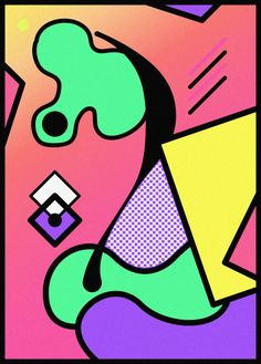 Abstract Graphic Design Posters by Paul-Henri Schaedelin | Art Sponge