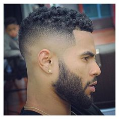 Top 27 Hairstyles For Black Men ❤ liked on Polyvore featuring men's fashion