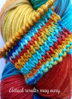 Scarlet Macaw - Superwash Merino DK Weight Yarn - Tinted Tangles