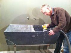 Management Chair: DESIGN IDEA: Vintage Soapstone Sinks? Cheap and abundant, but workable?