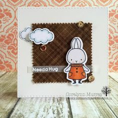 Sunrise Stamper: AAA Card Challenge #48 - Autumn Colours / Fabric