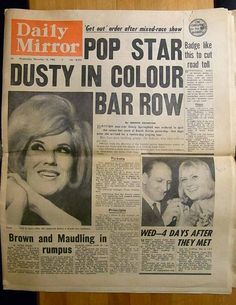 """fuckyeahgrrrlrock: """" Dusty Springfield deported from South Africa for refusing to play to white-only audiences, """" Dusty Springfield, Soul Singers, Apartheid, Northern Soul, The A Team, African History, South Africa, Growing Up, Nostalgia"""