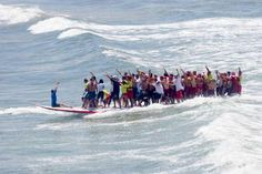 What The? Alert the Guinness Folks! World Record Surfers!! - CovalentNews.com