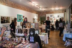 Holiday craft shows in Toronto are only superior to the mall scene if you're shopping for a certain type of person: a person you truly love. Pop Up Market, New Market, Reading At Home, Attendance, Secret Santa, Local Artists, Christmas Home, Handmade Art, Holiday Crafts