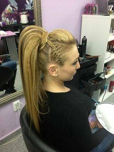 ROCK IT hair #hairstyle #longhair #braid - bellashoot.com
