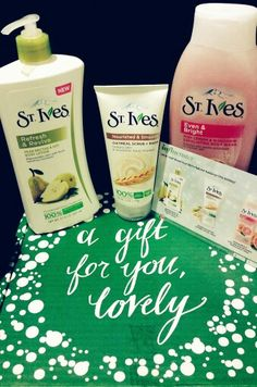 ♡St. Ives Holiday VoxBox #VoxBox #LiveRadiantly #StIvesSkin #Free ♡