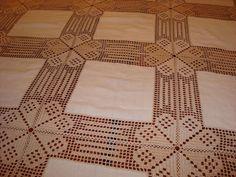 LAVORES DA ISABEL: Toalha de mesa em crochet