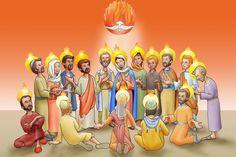 pentecostes-espiritusanto-apostoles-iglesia-arguments-catequesis-miroug-vidadejesus