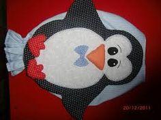 Resultado de imagem para imagem de pinguins como imã de geladeira feito de feltro