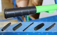 Round Hand Grips or Rubber Grips, are an ideal choice for a comfortable grip solution, often used with applications with metal handle bars, such as bikes and strollers. Metal Pole, Metal Bar, Push Bikes, Prams, Dip, Choices, Handle, Number, Cleaning
