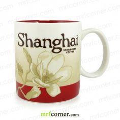 S489 16oz Starbucks Shanghai Global Icon City Mug