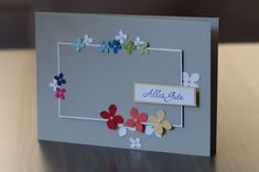 Gorgeous card!  Eine kleine Vorschau…