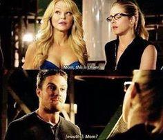 Oliver meets Felicity's mum!!!