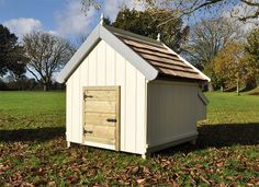 This is based on the design of the Cherry Marasca duck house but designed for chickens with a few extra features. Cedar Roof, Chicken Home, Duck House, Industrial Park, Side Wall, Nesting Boxes, Design Development, Acre
