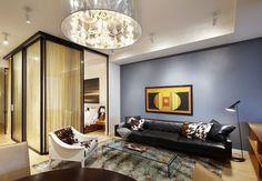 Studio Divider glass element
