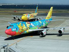 …and Pokémon planes! | 27 Reasons We Should All Be Moving To Japan