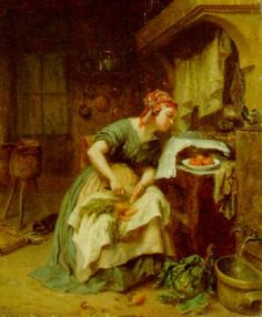 The political cook by Pierre Edouard Frère
