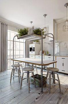 Virlova Interiorismo: [Projects] 49 m² en blanco empolvado